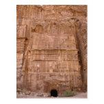 Silk tomb of Rainbow tomb, Petra, Jordan Postcard
