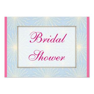 Silk Tones Blue WEDDING Shower Card
