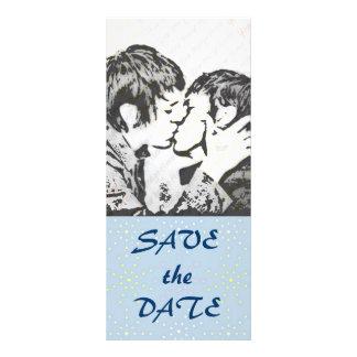 Silk Tones WEDDING Save The Date Rack Card