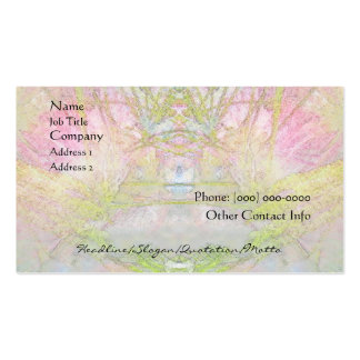 Silk Tree Spa and Salon Profile Card Double-Sided Standard Business Cards (Pack Of 100)