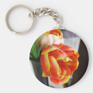 Silk Tulip Key Chain