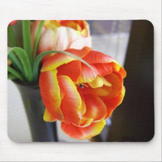 Silk Tulip Mouse Pad