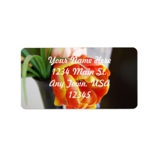 Silk Tulip Personalized Address Labels
