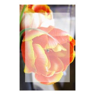 Silk Tulip Stationery Unlined