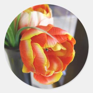 Silk Tulip Stickers