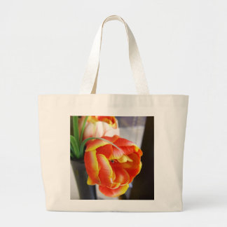 Silk Tulip Tote Bag