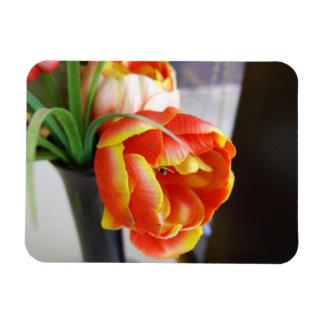 Silk Tulip Vinyl Magnets