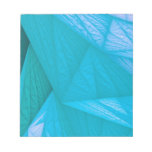 silk turquoise note pads