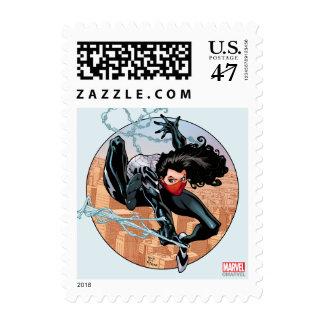 Silk Webslinging Stamp