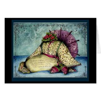 Silk Wedding Anniversary : Jupigio-Artwork.com Greeting Card