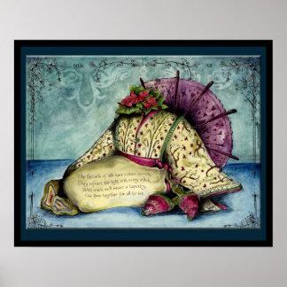 Silk Wedding Anniversary : Jupigio-Artwork.com Poster
