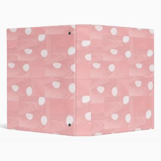 Silk Wrap Sensual Pink Pattern Binder