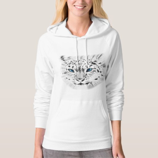 Silked Snow Leopard Hoody
