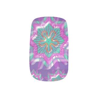 Silken Crystal Minx esthéticien clous couvertures Minx Nail Wraps