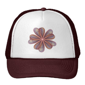 Silken Flowers Wedding Trucker Hat