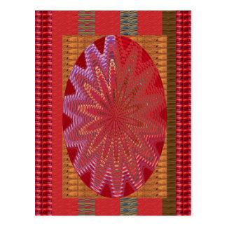 Silken Golden Threads: Wedding Special occasions Postcard