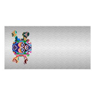 Silken Silver Base n Art101 Graphic Skull Sparkle Card