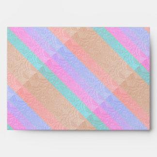 Silken Stripes Envelope