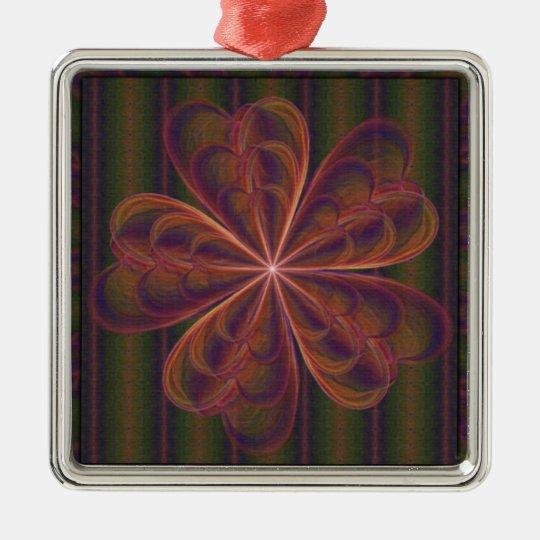 Silken Wallflower Ornament