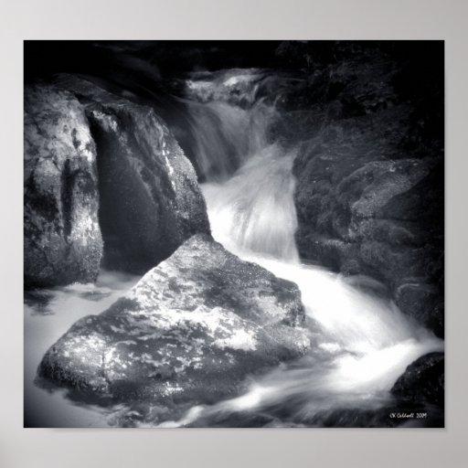 Silken Water Print