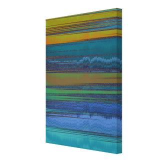 Silken Water Silken Sky Canvas Print