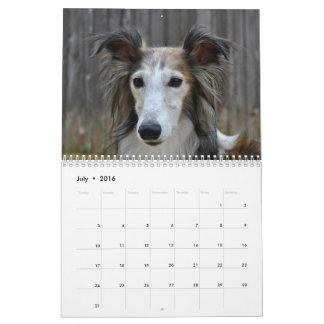 Silken Windhound 2017 Calendar