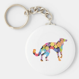 Silken Windhound Keychain