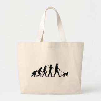Silken Windhound Large Tote Bag