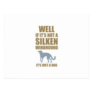 Silken Windhound Postcard
