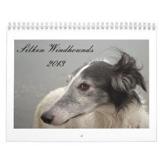 Silken Windhounds 2013-2 Wall Calendars