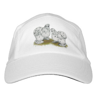 Silkie Bantam Splash Chickens Hat