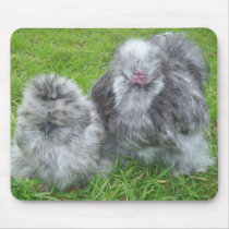 Silkie Chicken Mousepad