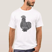 silkie chicken t shirt