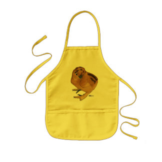 Silkie Red Chick Kids' Apron