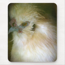 Silkie Rooster Mouse Pad