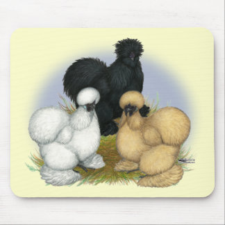 Silkie Trio Mouse Pads