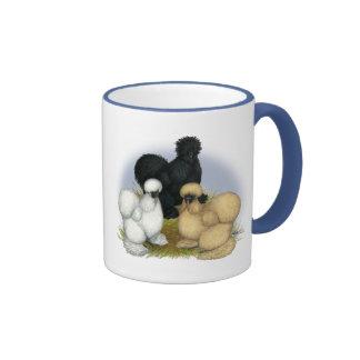 Silkie Trio Ringer Coffee Mug
