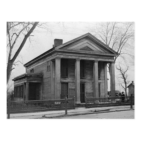 Silkman House Scranton Pa. Postcard