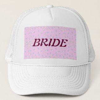 Silktones Dot Stream BRIDE Trucker Hat