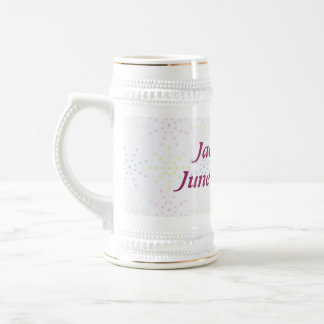 Silktones Dotty White Wedding Mug