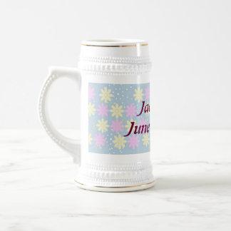 Silktones Millefiori wedding mug