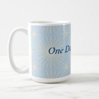 Silktones Sun Star ODAT Classic White Coffee Mug