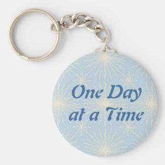 Silktones Sun Star ODAT Basic Round Button Keychain