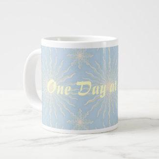Silktones Sunstar ODAT 20 Oz Large Ceramic Coffee Mug