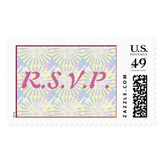 Silktones Whirlies Wedding Postage Stamp