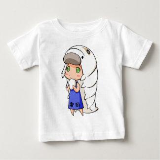 Silkworm English story Tomioka Silk Mill Gunma Baby T-Shirt