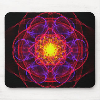 Silkwoven Neon Sigil 2 Mouse Pad