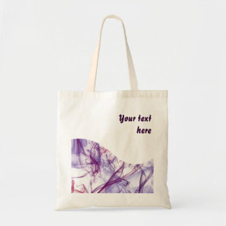 Silky Abstract Budget Tote Bag