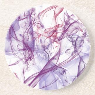 Silky Abstract Coaster