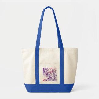 Silky Abstract Impulse Tote Bag